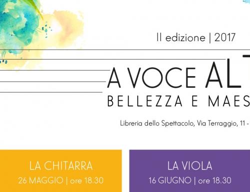 """Milano, AGON: parte la seconda stagione del ciclo di eventi """"A Voce Alta""""!"""