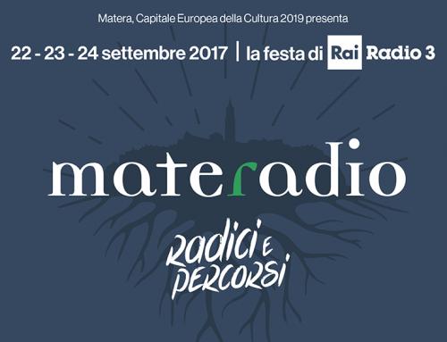 """Elio e Francesco Micheli a Matera e in diretta su Radio3 per Materadio 2017 in """"Cantiere Opera – Vincenzo Bellini"""""""