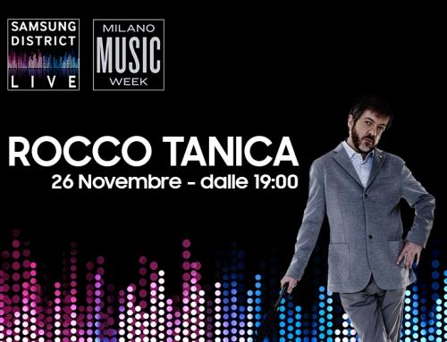 Rocco Tanica alla Milano Music Week